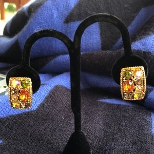 Joan Rivers Crystals clip earring gorgeous!